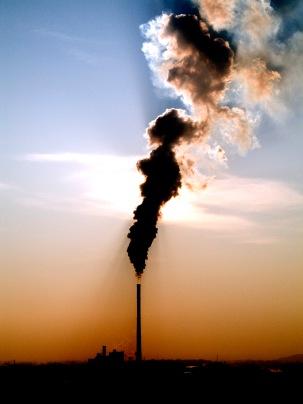 smoky chimney